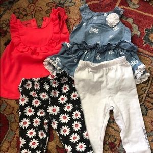 6-9 month Calvin Klein outfits